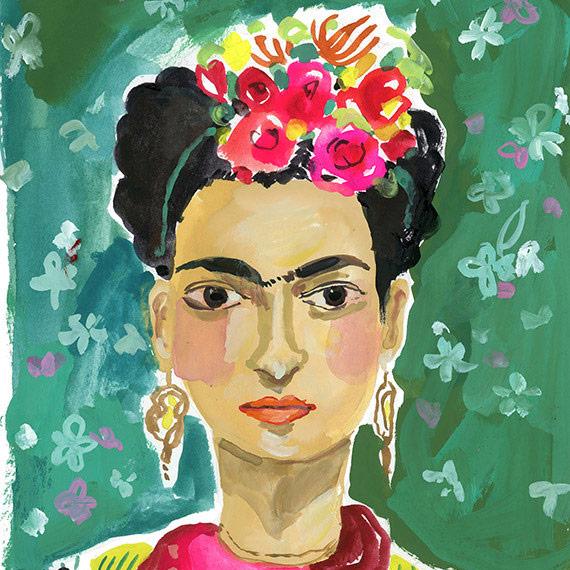 Frida Archival Print